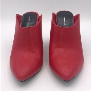 Report Red Mules Size 8